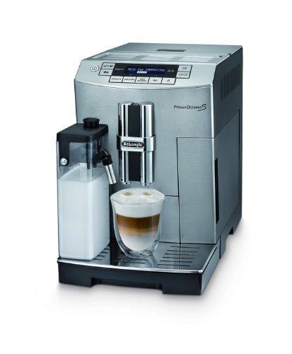 DeLonghi-ECAM-26455MB-Kaffee-Vollautomat-PrimaDonna-S-18-l-integriertes-Milchsystem-Edelstahlfront-0