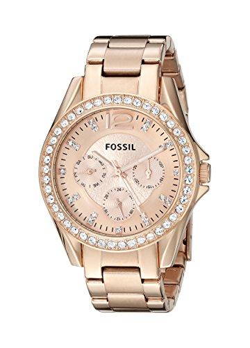 Fossil-Damen-Multifunktionsuhr-Dress-Analog-Quarz-ES2811-0