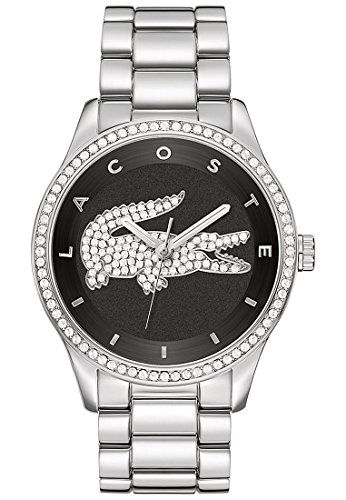 Lacoste-Damen-Armbanduhr-Victoria-Analog-Quarz-One-Size-schwarz-0