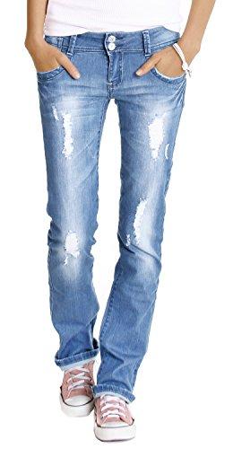 Bestyledberlin-Damen-Jeans-Hosen-Hftjeans-destroyed-j28x-0