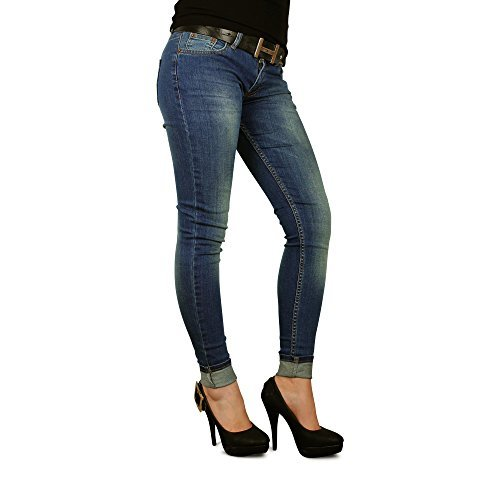 DSema-Damen-Jeans-Slim-Fit-Stretch-Hose-Hfthose-Damenjeans-Hftjeans-Stretchhose-Wunschgre-0