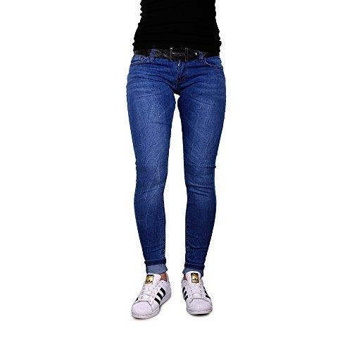 DSema-Damen-Slim-Fit-Skinny-Jeans-Stretch-Hose-Hftjeans-Rhrenjeans-Damenjeans-0