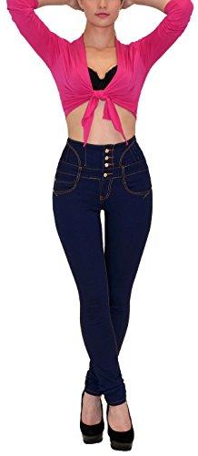 Damen-Jeans-Damen-Rhrenjeans-Damen-jeanshose-mit-hohem-Taillenbund-in-11-aktuellen-Farben-J22-0