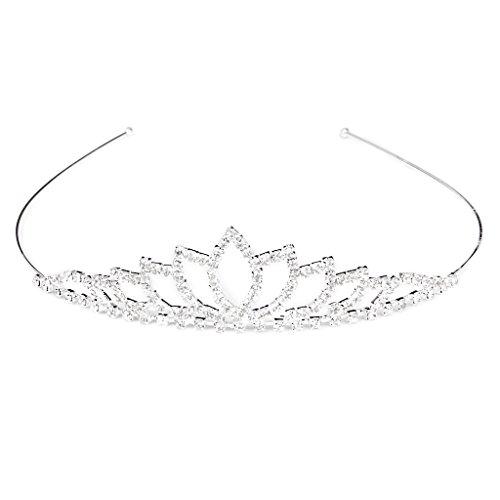 Diadem-Hochzeit-Frauen-Mdchen-Strass-Kopf-Schmuck-Kronprinzessin-Stirnband-0