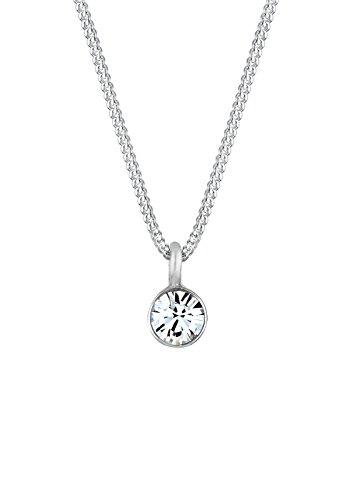 Elli-Damen-Halskette-mit-Anhnger-925-Sterling-Silber-mit-Swarovski-Kristallen-45cm-010756251145-0