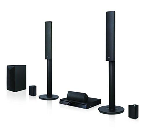 LG-LHA745-51-3D-Blu-ray-Heimkinosystem-1000-Watt-Smart-TV-DLNA-Bluetooth-1080p-Upscaling-schwarz-0