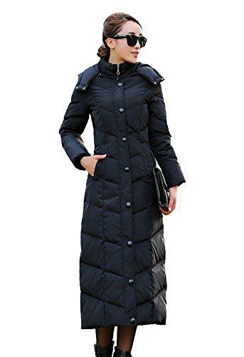 G Beanbang Lange Damen Daunenjacke Daunen Mantel Jacke Mit Kapuze