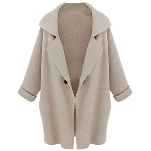 half off b8f7a a3860 Tasso Damen Jacke Mantel Casual Strickjacke Lose Mantel Herbst Winter  Outwear Cape